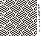 vector seamless pattern. modern ...   Shutterstock .eps vector #698150875