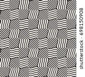 vector seamless pattern. modern ... | Shutterstock .eps vector #698150908