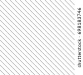 diagonal thin dashed black... | Shutterstock .eps vector #698183746