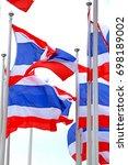 thai flag   Shutterstock . vector #698189002