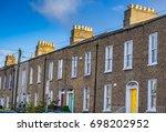 editorial use only  dublin city ... | Shutterstock . vector #698202952