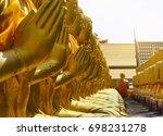 buddhism memorial park at... | Shutterstock . vector #698231278