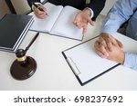 business people and lawyers