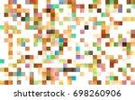 light green vector modern...   Shutterstock .eps vector #698260906