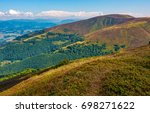 path on the edge of mountain... | Shutterstock . vector #698271622