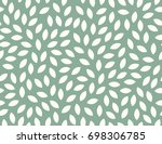 leaves pattern. endless... | Shutterstock .eps vector #698306785
