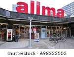Small photo of LUXEMBOURG_AUG 10: ALIMA supermarket on August 10,2017 in Luxembourg.