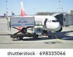 saint petersburg  russia   may... | Shutterstock . vector #698335066