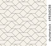 vector seamless pattern. modern ...   Shutterstock .eps vector #698368288