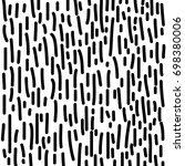 vector line pattern on white... | Shutterstock .eps vector #698380006