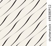 seamless ripple pattern.... | Shutterstock .eps vector #698380912