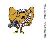vector illustration of a... | Shutterstock .eps vector #698391496