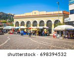 athens  greece   june 13  2017  ... | Shutterstock . vector #698394532