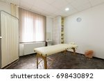 massage room interior | Shutterstock . vector #698430892