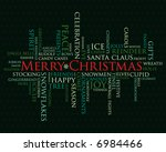 merry christmas and other...   Shutterstock .eps vector #6984466