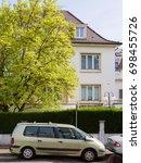 strasbourg  france   apr 12 ...   Shutterstock . vector #698455726