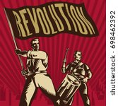 Vector Vintage Revolution...