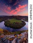 evening sunset at horseshoe... | Shutterstock . vector #698496202