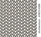 seamless abstract pattern... | Shutterstock .eps vector #698514388
