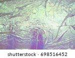 iridescent paper | Shutterstock . vector #698516452