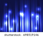 abstract lights background.... | Shutterstock .eps vector #698519146