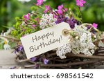 Birthday Card With Colorful...