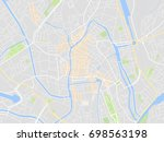 map gent | Shutterstock .eps vector #698563198