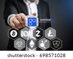 concept photo of business man... | Shutterstock . vector #698571028
