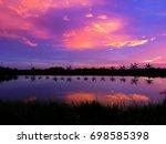 sunset view | Shutterstock . vector #698585398