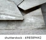 abstract concrete geometry  | Shutterstock . vector #698589442