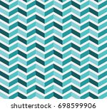geometric seamless colorful... | Shutterstock .eps vector #698599906