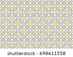 colorful striped horizontal...   Shutterstock . vector #698611558