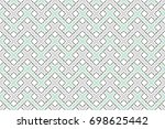 colorful striped horizontal... | Shutterstock . vector #698625442