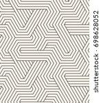 vector seamless pattern. modern ... | Shutterstock .eps vector #698628052