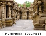 the kailasanath temple is the... | Shutterstock . vector #698654665