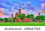 The Smithsonian Castle In...