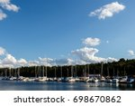 Yachts And Fishing Boats In Th...