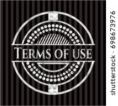 terms of use silver badge