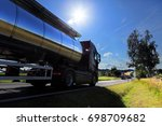 truck on the road | Shutterstock . vector #698709682