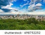 montreal cityscape | Shutterstock . vector #698752252