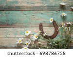 Rustic Background With Rusty...