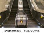 Small photo of Escalators in transit area