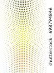 light green  yellow banners set ... | Shutterstock . vector #698794846