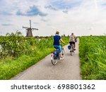 kinderdijk  netherlands   aug... | Shutterstock . vector #698801362