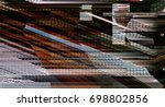 modern background with dead... | Shutterstock . vector #698802856