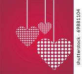 st. valentine's day background   Shutterstock .eps vector #69881104