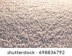 texture of snow glitters in sun ... | Shutterstock . vector #698836792