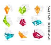 business design elements   icon ... | Shutterstock .eps vector #69885997