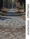 Small photo of The Via Appia Antica is the old Roman Appian Way, one of the earliest and strategically most important Roman roads of the ancient republic. It connected Rome to Brindisi, in southeast Italy.