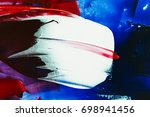 painted abstract background | Shutterstock . vector #698941456
